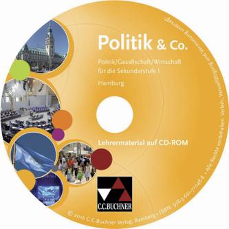 Politik & Co., Ausgabe Hamburg, Lehrermaterial, CD-ROM