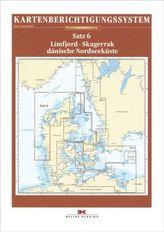 Delius Klasing-Sportbootkarten Limfjord - Skagerrak - Dänische Nordseeküste, Berichtigung, Planokarte
