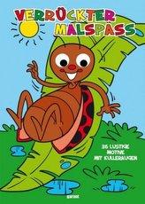 Wackelaugen Malbuch Käfer