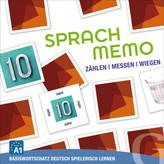 Sprachmemo Deutsch: Zählen / Messen / Wiegen (Spiel)