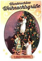 Wunderschöne Weihnachtsgrüße, 12 Weihnachtskarten