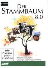 Der Stammbaum 8.0, 1 DVD-ROM