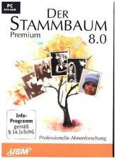 Der Stammbaum 8.0 Premium, 1 DVD-ROM