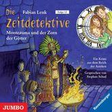 Die Zeitdetektive - Montezuma und der Zorn der Götter, Audio-CD