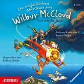 Die unglaublichen Abenteuer von Wilbur McCloud - Stürmische Jagd, 2 Audio-CDs