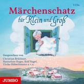 Märchenschatz für Klein und Groß, 3 Audio-CDs