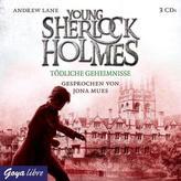 Young Sherlock Holmes - Tödliche Geheimnisse, 3 Audio-CDs