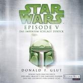 Star Wars(TM) - Episode V - Das Imperium schlägt zurück, 1 MP3-CD