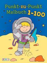 Punkt-zu-Punkt-Malbuch 1-100