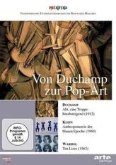 Von Duchamp zur Pop-Art: Duchamp - Klein - Warhol, 1 DVD
