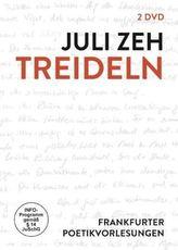 Treideln - Frankfurter Poetikvorlesung, 2 DVDs