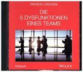 Die 5 Dysfunktionen eines Teams, Audio-CD