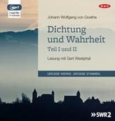 Dichtung und Wahrheit - Teil I und II, 2 MP3-CDs