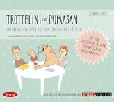 Trottelini mit Pumasan. Wahre Geschichten aus dem Leben junger Eltern, 1 Audio-CD