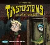 Die Finstersteins - Wehe, wer die Toten weckt..., 3 Audio-CDs