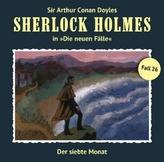 Sherlock Holmes - Der siebte Monat, 1 Audio-CD