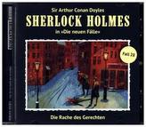 Sherlock Holmes, Die Rache des Gerechten, 1 Audio-CD