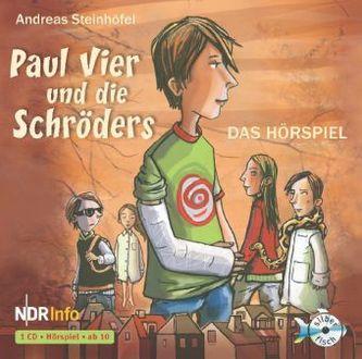 Paul Vier und die Schröders, 1 Audio-CD