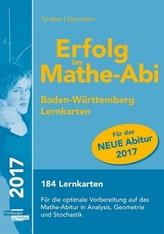 Erfolg im Mathe-Abi 2017 Lernkarten Baden-Württemberg