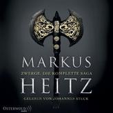 Zwerge - Die komplette Saga, 10 MP3-CDs