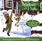 Pettersson und Findus, Schneeballschlacht und Winterspaß, 1 Audio-CD