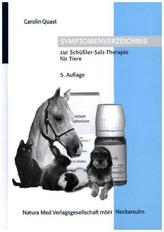 Symptomenverzeichnis zur Schüßler-Salz-Therapie für Tiere