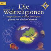 Die Weltreligionen, 5 Audio-CDs