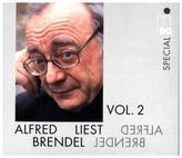 Alfred Brendel liest, 2 Audio-CDs. Vol.2