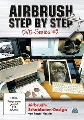 Airbrush-Schablonen-Design, DVD