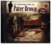 Pater Brown - Der Hammer Gottes, 1 Audio-CD