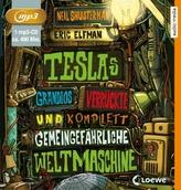 Teslas grandios verrückte und komplett gemeingefährliche Weltmaschine, 1 MP3-CD