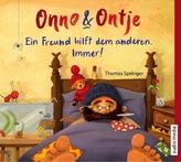Onno und Ontje. Ein Freund hilft dem anderen. Immer!, Audio-CD m. 1 Beilage