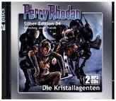 Perry Rhodan Silber Edition - Die Kristallagenten (remastered), 2 MP3-CDs