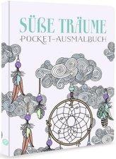 Süße Träume - Pocket-Ausmalbuch
