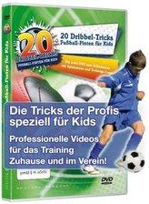 20 Dribbel-Tricks - Fußball-Finten für Kids, 1 DVD