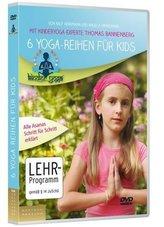 6 Yoga-Reihen für Kids, 1 DVD