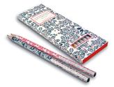 Insel Bücherei Bleistift-Set. 6 Bleistifte mit Zitaten