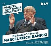 Ganzzz und garrr missraten. Die besten O-Töne von Marcel Reich-Ranicki, 1 Audio-CD