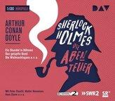 Sherlock Holmes 2 - Die Abenteuer, 6 Audio-CDs
