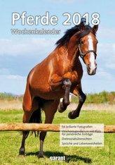 Pferde, Wochenkalender 2018