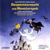 Gespensternacht und Monsterspuk, Audio-CD