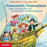 Piratenschiffe, Piratenschätze, 1 Audio-CD