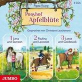 Ponyhof Apfelblüte, 3 Audio-CDs