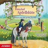 Ponyhof Apfelblüte - Samson und das große Turnier, 1 Audio-CD