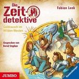 Die Zeitdetektive - Goldrausch im Wilden Westen, 1 Audio-CD