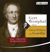 Gert Westphal liest Johann Wolfgang von Goethe, 6 MP3-CDs