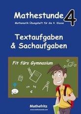 Textaufgaben & Sachaufgaben
