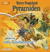 Pyramiden, 2 MP3-CDs