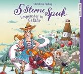 5 Sterne Spuk - Gespenster in Gefahr, 2 Audio-CDs