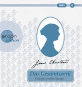 Jane Austen Gesamtausgabe, 13 MP3-CDs